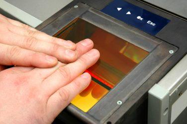 Electronic Fingerprint Scanning