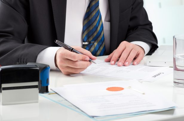 Notarization of a document
