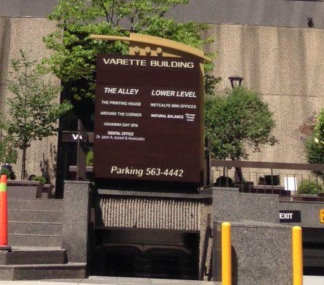 Slater Entrance to Varette Building