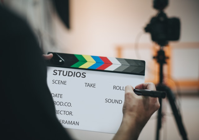 Film Studio Clapboard