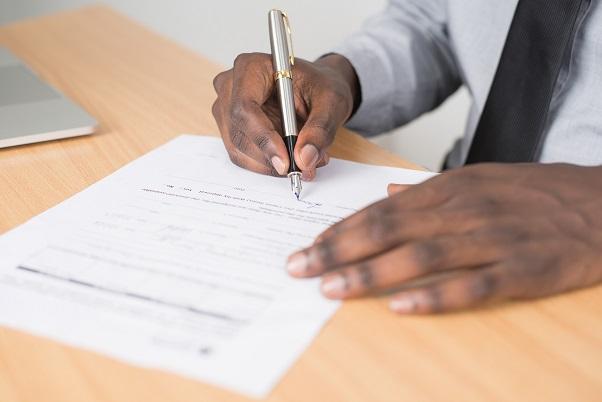 Signing Affidavit of Execution